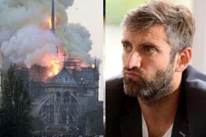 """Pożar katedry Notre Dame. Maciej Dowbor reaguje na tragedię... memem ze swoją matką? """"Mamo! Dasz radę!"""""""