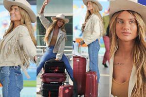 Długie doczepy Karoliny Gilon lecą na festiwal Coachella (ZDJĘCIA)