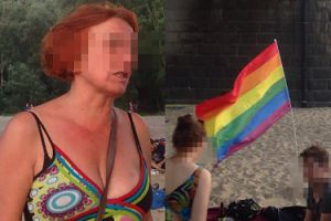 """Pijana kobieta zaatakowała uczestników Parady Równości: """"Biła nas, kopała i wyzywała od d****k i pedofili"""""""