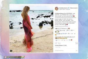 """Chodakowska kroczy boso po plaży i zapowiada """"nowy początek"""""""