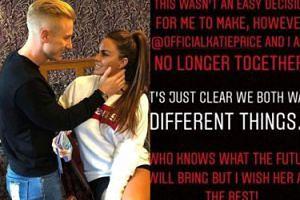 Katie Price już rozstała się z nowym chłopakiem! Wiedzieliście, że w ogóle się spotykali?