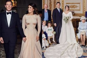 Opublikowano OFICJALNE ZDJĘCIA ze ślubu księżniczki Eugenii! Miała drugą suknię (FOTO)