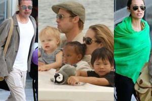 """Angelina Jolie utrudnia Bradowi kontakty z dziećmi: """"Postawiła między nimi mur"""""""
