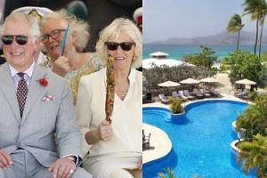 Królewskie warunki księcia Karola i księżnej Camilli na Grenadzie: Minimalna cena za noc w ich hotelu to TYSIĄC EURO