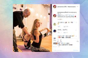 Joanna Moro gimnastykuje się na Instagramie