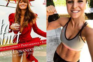 """""""Wyluzowana"""" Anna Lewandowska deklaruje w """"Vivie!"""": """"Nie muszę już trenować codziennie. Wystarczy CZTERY, PIĘĆ RAZY W TYGODNIU"""""""