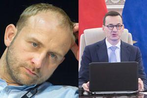 """Szyc komentuje """"żarcik"""" Morawieckiego: """"Proszę mnie nie mieszać do polityki w swoich błyskotliwych wystąpieniach"""""""