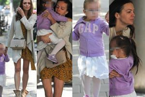 Naturalna Anna Wendzikowska spaceruje z córką i paparazzi (ZDJĘCIA)