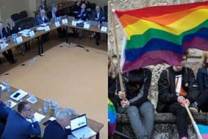 """Radny PiS próbował rozwinąć skrót LGBT: """"Lesbijki, geje, bio coś tam"""""""