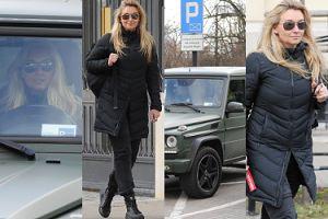 Martyna Wojciechowska w aucie za PÓŁ MILIONA łamie przepisy, parkując w niedozwolonym miejscu (ZDJĘCIA)