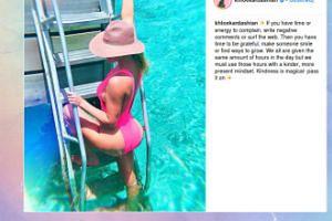 Khloe Kardashian o pozytywnej energii