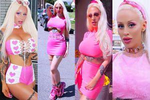 """Nowa """"żywa Barbie"""" walczy o uwagę na Instagramie! Poznajcie """"Królową Blachar"""" (ZDJĘCIA)"""