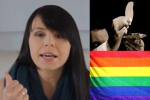 """Dziennikarka katolicka w DDTVN o księżach-gejach: """"Ksiądz to FUNKCJA OJCOWSKA, dlatego nie wybieramy kogoś o orientacji homoseksualnej"""""""