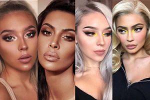 Instagramerka naśladująca makijaże Kardashianek robi furorę w sieci. Zdolna? (ZDJĘCIA)