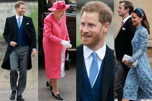 Królowa Elżbieta, książę Harry i Pippa Middleton na kolejnym ślubie w rodzinie Windsorów (ZDJĘCIA)