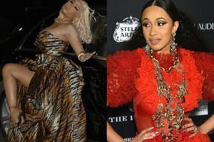 """Cardi B ZAATAKOWAŁA Nicki Minaj na imprezie """"Harper's Bazaar""""! Rzuciła w nią butem..."""