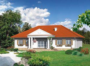 Dom w stylu dworkowym - dlaczego warto wybrać projekt domu w stylu dworku?
