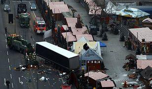 Miejsce zamachu w centrum Berlina.