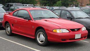 Ford Mustang 4 generacji