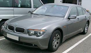 BMW Serii 7 E65/E66