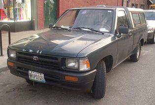 Toyota Hilux 5 generacji