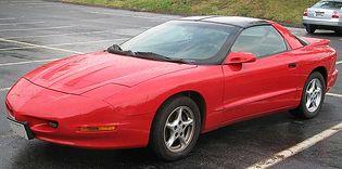 Pontiac Firebird 4 generacji