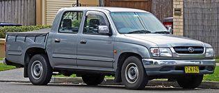 Toyota Hilux 6 generacji