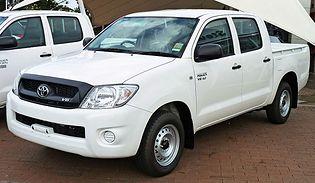 Toyota Hilux 7 generacji