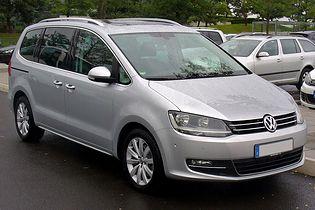 Volkswagen Sharan 2 generacji