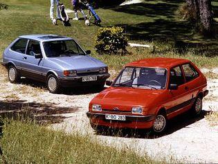 Ford Fiesta 2 generacji