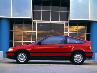 Honda CR-X 2 generacji