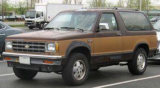 Chevrolet Blazer 1 generacji