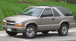 Chevrolet Blazer 2 generacji [3FL]