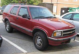 Chevrolet Blazer 2 generacji [2FL]