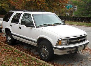 Chevrolet Blazer 2 generacji