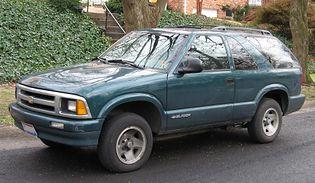 Chevrolet Blazer 2 generacji [FL]