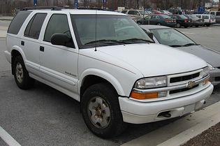 Chevrolet Blazer 3 generacji
