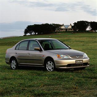 Honda Civic 7 generacji