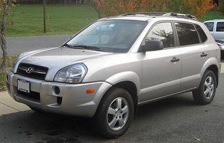 Hyundai Tucson 1 generacji