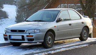 Subaru Impreza 1 generacji