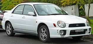 Subaru Impreza 2 generacji
