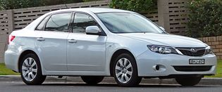 Subaru Impreza 3 generacji