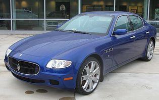 Maserati Quattroporte 5 generacji