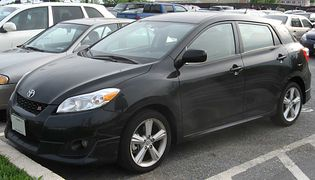 Toyota Matrix 2 generacji