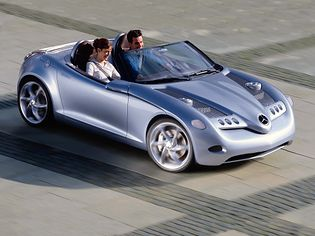 Mercedes-Benz SLA Vision Concept