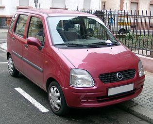Opel Agila (A)