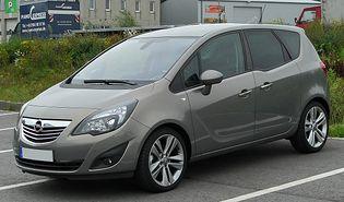 Opel Meriva 2 generacji