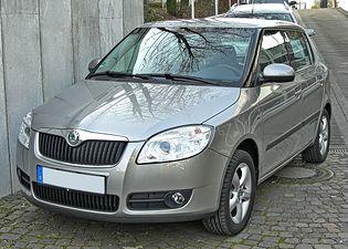 Škoda Fabia 2 generacji