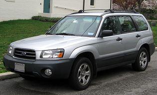 Subaru Forester 2 generacji