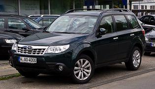 Subaru Forester 3 generacji